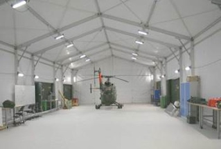 Aluminum structure warehouse