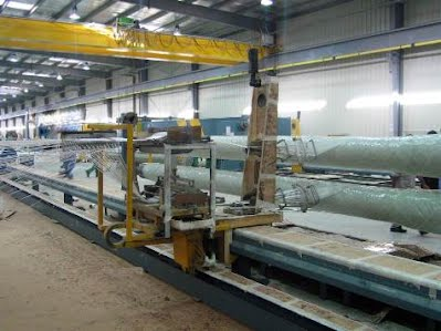 FRP Pipe manufacturing