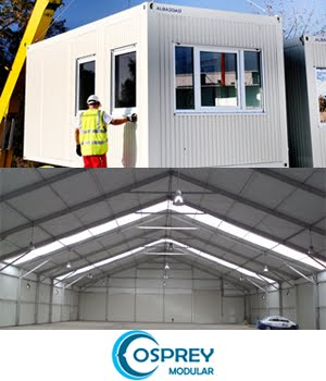 Modular Buildings, transportable, warehouses, mining camps and military camps