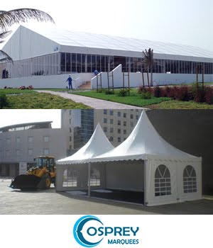 Marquees & Aluminium Structure Mobile Halls for events