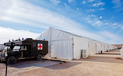 Military Camp medical unit