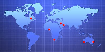 OSPREY World Wide Locations and Offices