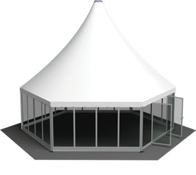 Hexagon Arabian Marquee 5m to 12m